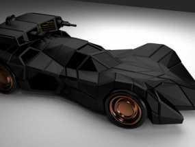 装甲蝙蝠车 3D模型