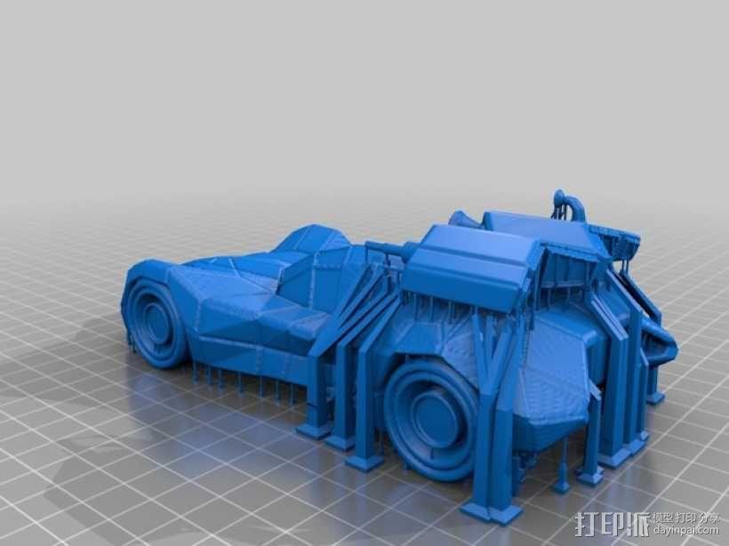 装甲蝙蝠车 3D模型  图3