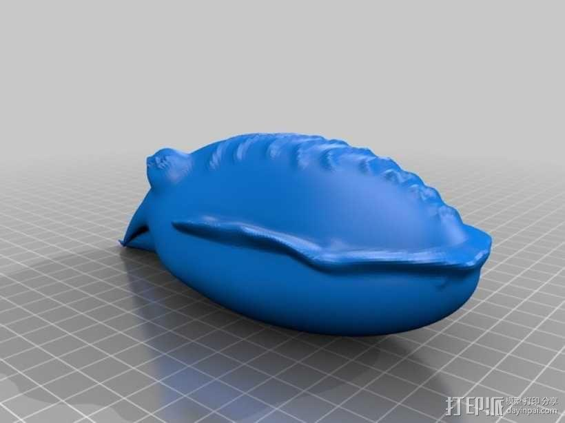 乌贼 3D模型  图2