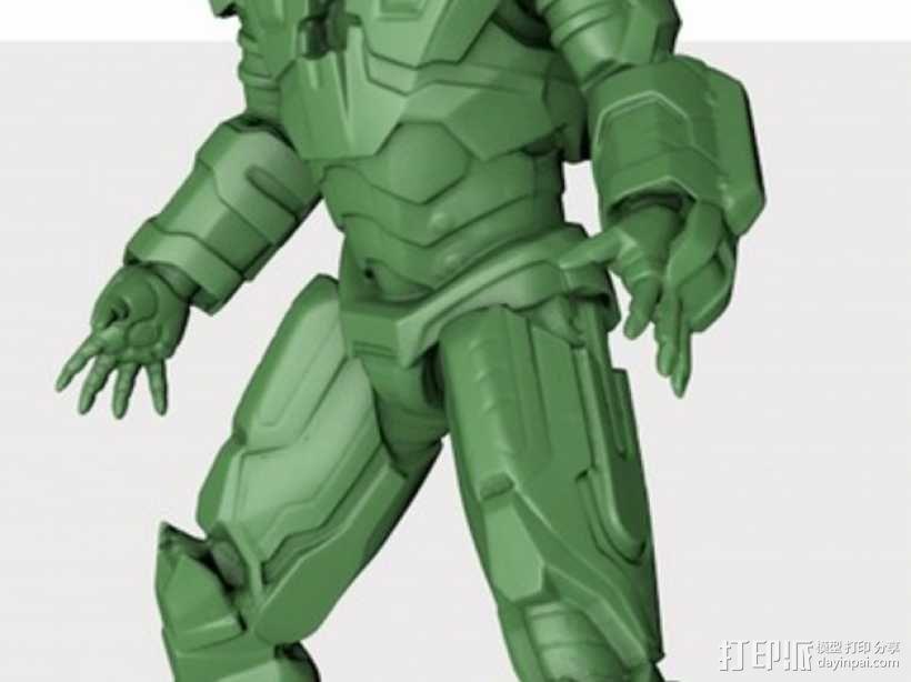 战争机器 机器人 3D模型  图1