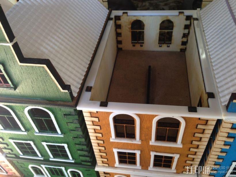 乡间别墅 3D模型  图1