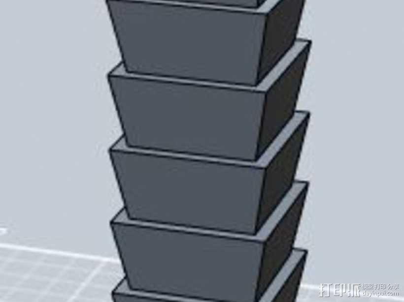 台北101大楼 3D模型  图7