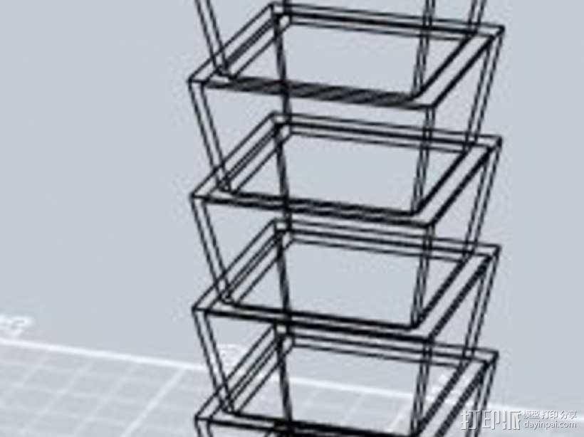 台北101大楼 3D模型  图8