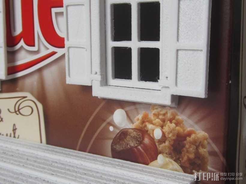 饼干屋 农舍 3D模型  图4