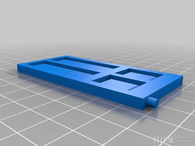 饼干屋 农舍 3D模型  图8