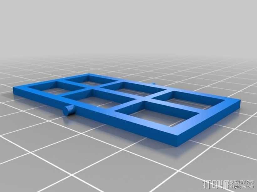 饼干屋 农舍 3D模型  图11