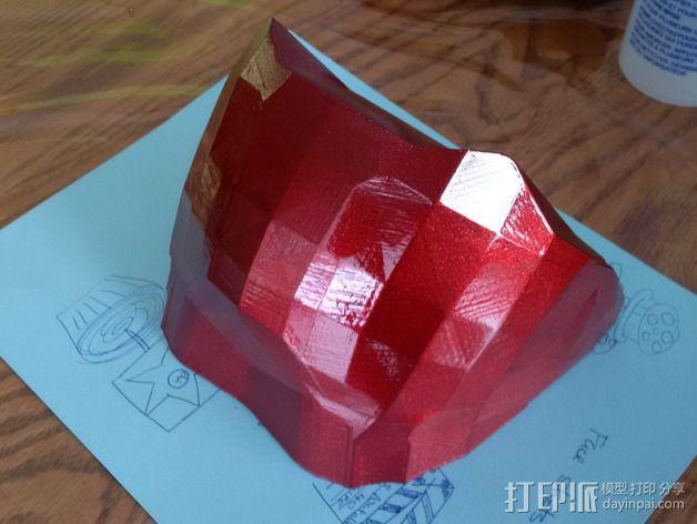 光晕4头盔 3D模型  图3
