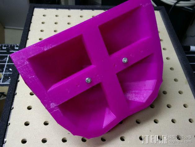 光晕4头盔 3D模型  图12