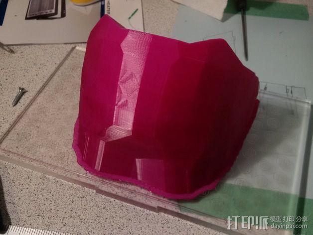 光晕4头盔 3D模型  图11