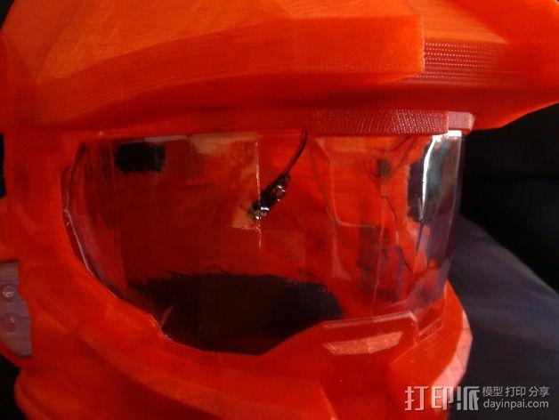 光晕4头盔 3D模型  图9