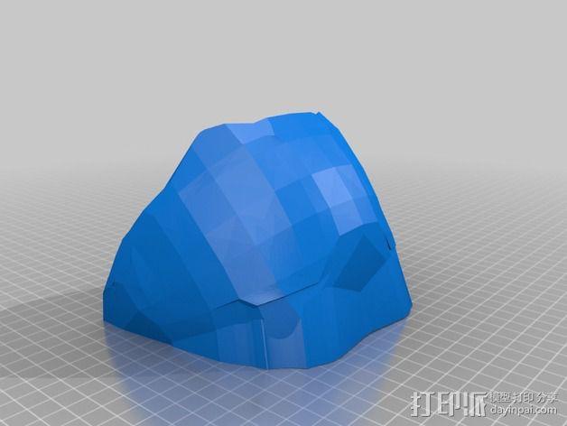 光晕4头盔 3D模型  图13