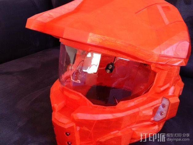 光晕4头盔 3D模型  图8