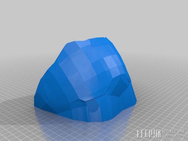 光晕4头盔 3D模型  图15
