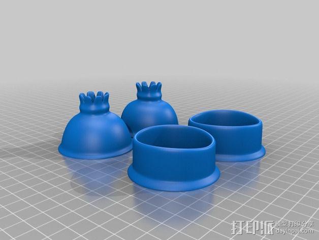 Lumiere蜡烛人 3D模型  图6