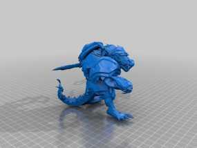 荒漠屠夫 英雄联盟 3D模型