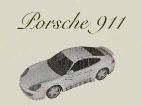 保时捷911汽车 3D模型