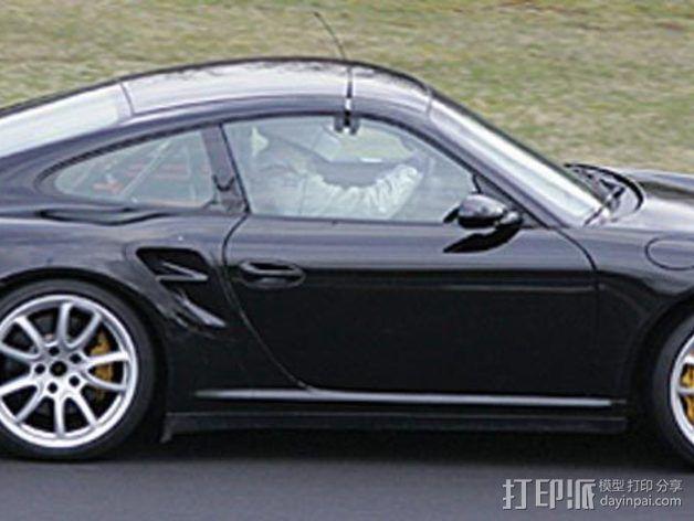 保时捷911汽车 3D模型  图3