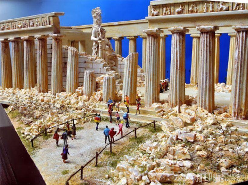 帕台农神殿 3D模型  图3