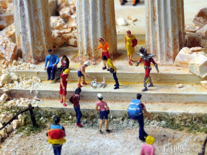 帕台农神殿 3D模型  图4