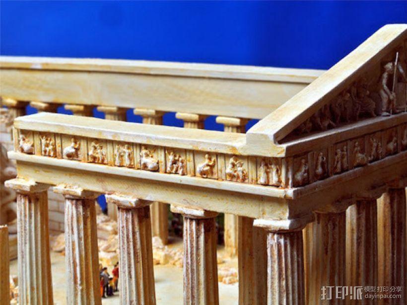 帕台农神殿 3D模型  图6