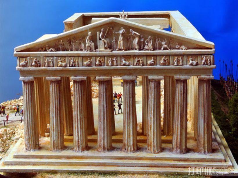 帕台农神殿 3D模型  图5