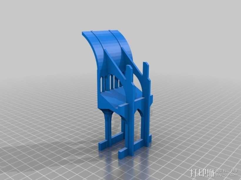 哥特式教堂 3D模型  图1