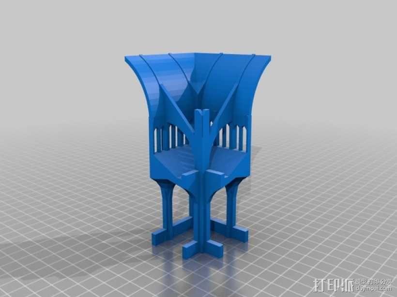 哥特式教堂 3D模型  图3
