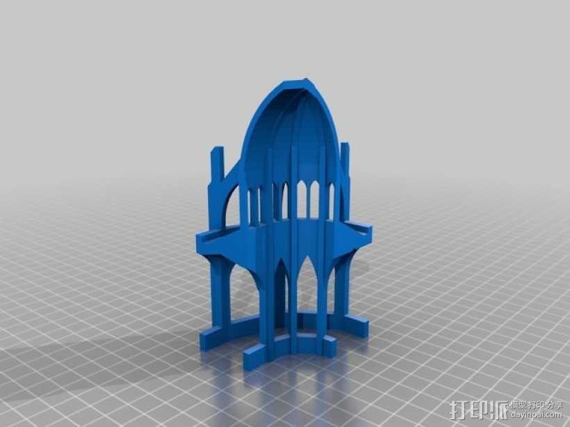 哥特式教堂 3D模型  图4