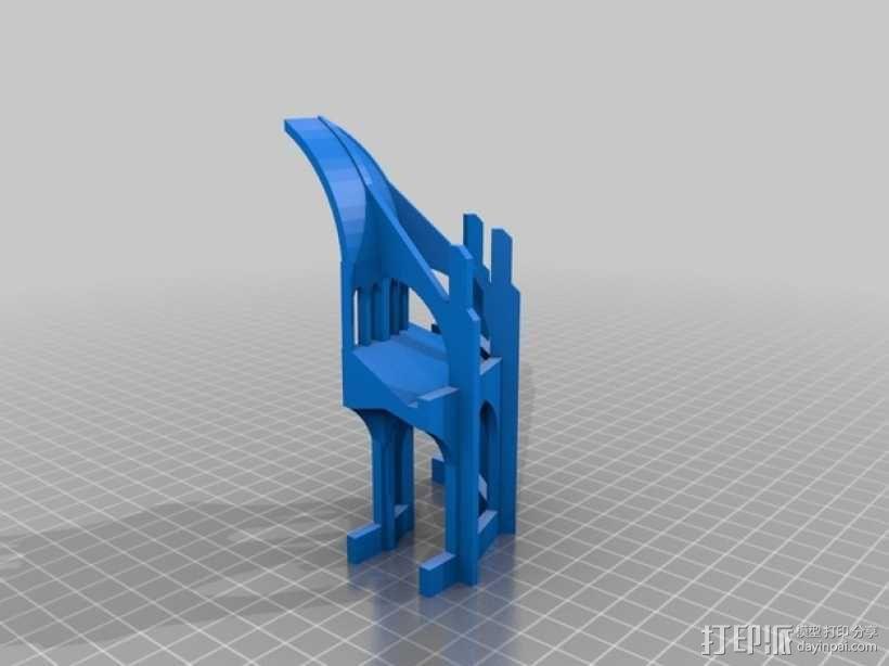 哥特式教堂 3D模型  图8