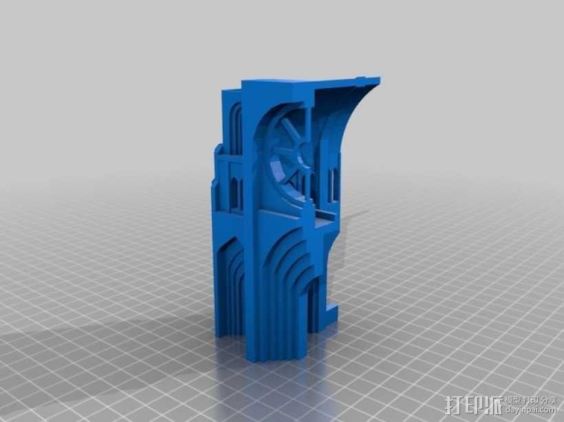 哥特式教堂 3D模型  图6