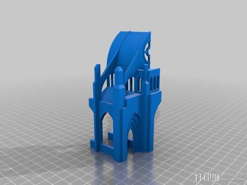 哥特式教堂 3D模型  图10