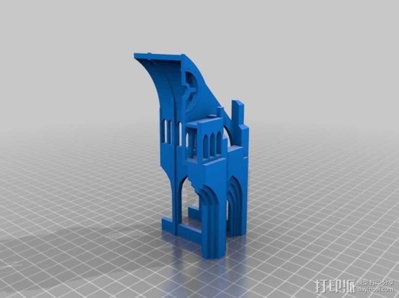 哥特式教堂 3D模型  图9