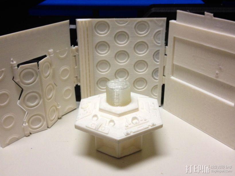 塔迪斯时光机器 3D模型  图1