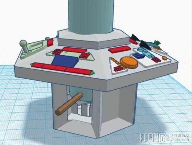 塔迪斯时光机器 3D模型  图4