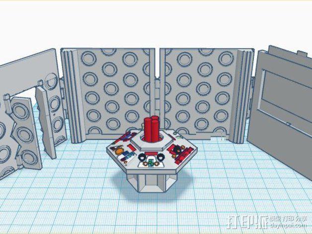 塔迪斯时光机器 3D模型  图3