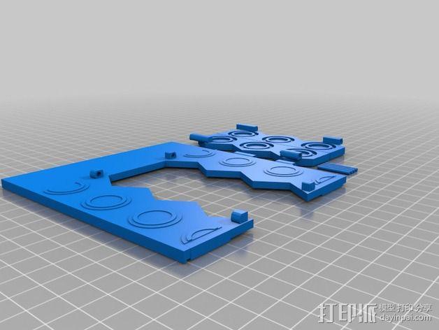 塔迪斯时光机器 3D模型  图7
