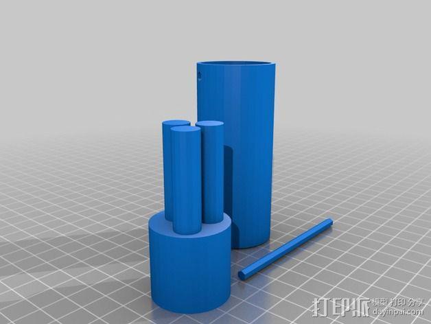 塔迪斯时光机器 3D模型  图9