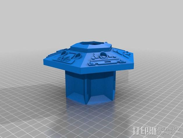 塔迪斯时光机器 3D模型  图10