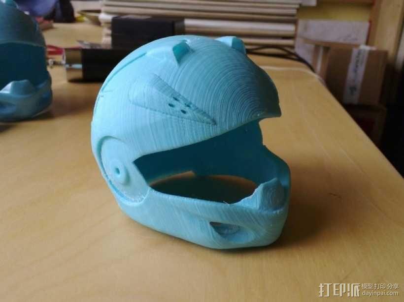 头盔 3D模型  图1