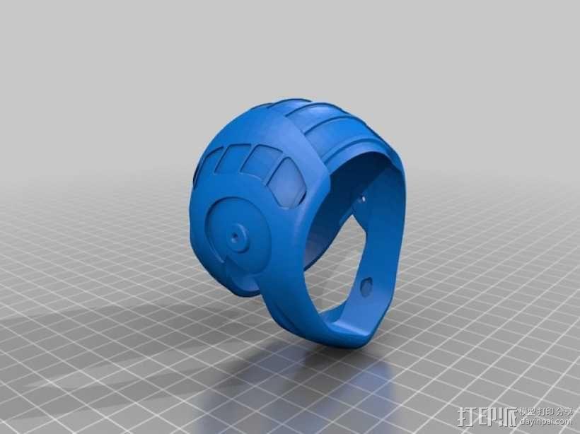 头盔 3D模型  图3