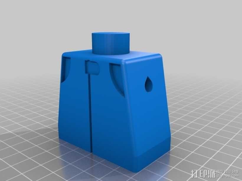神秘赛车手The STIG 3D模型  图3
