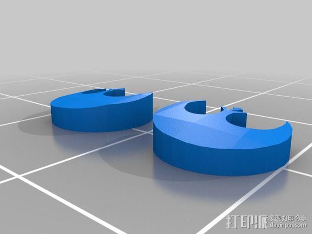 叛军飞行员头盔 3D模型  图4