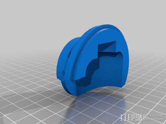 叛军飞行员头盔 3D模型  图6