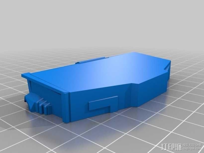 AT-AT步行机 3D模型  图5