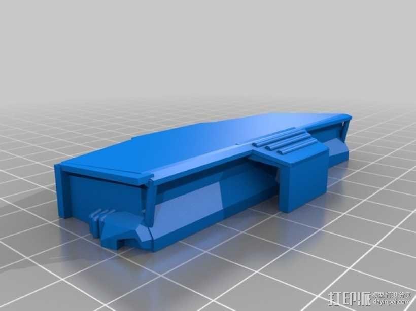 AT-AT步行机 3D模型  图6