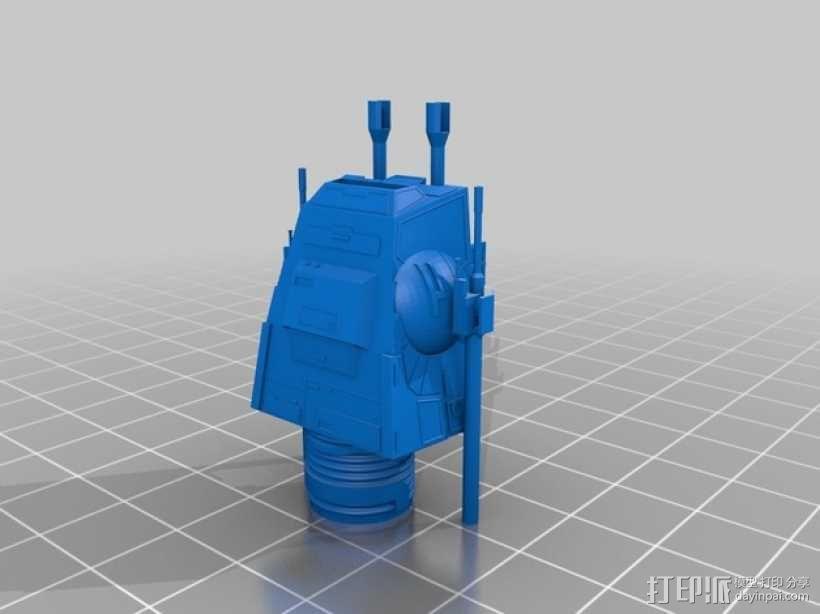 AT-AT步行机 3D模型  图7