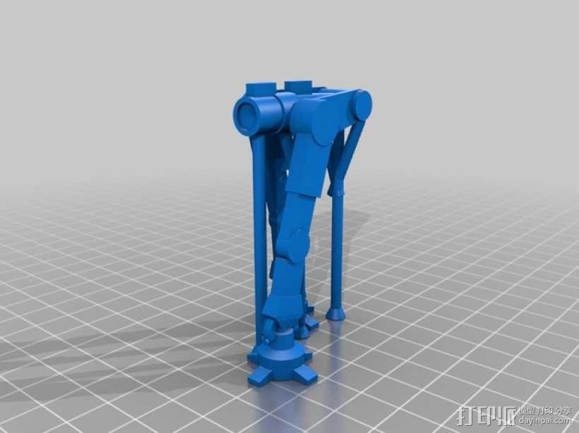 AT-AT步行机 3D模型  图8