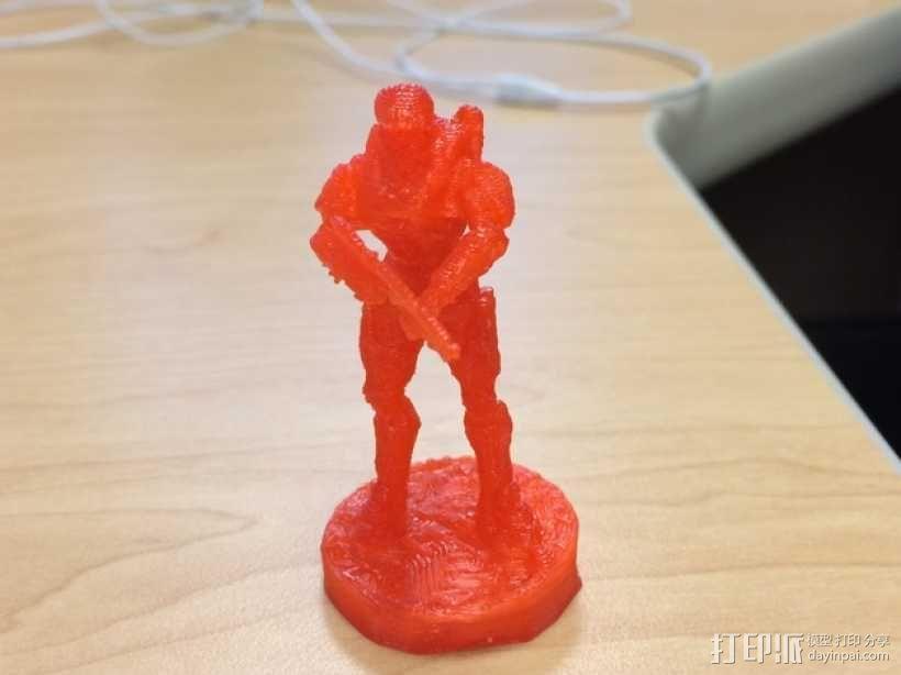 士长官 光晕 3D模型  图2
