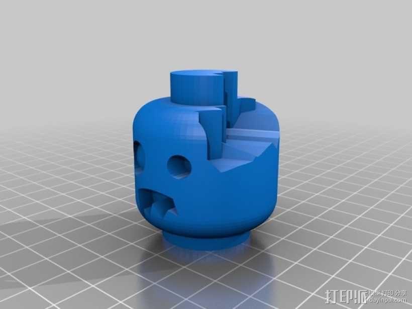 僵尸头  3D模型  图5