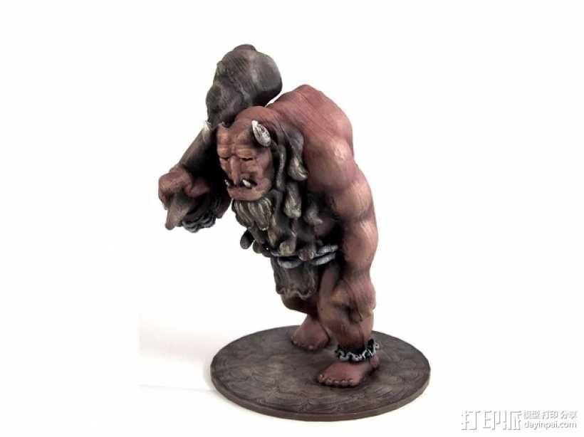 洞穴巨人 3D模型  图2
